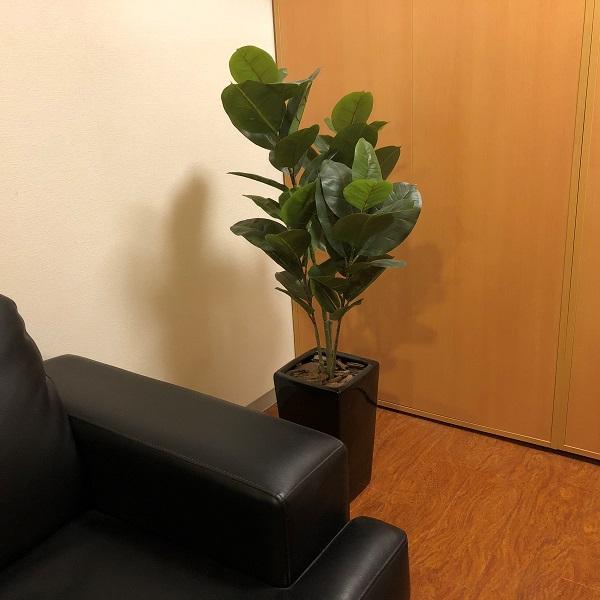 木の温もりを基調としたリラックス空間